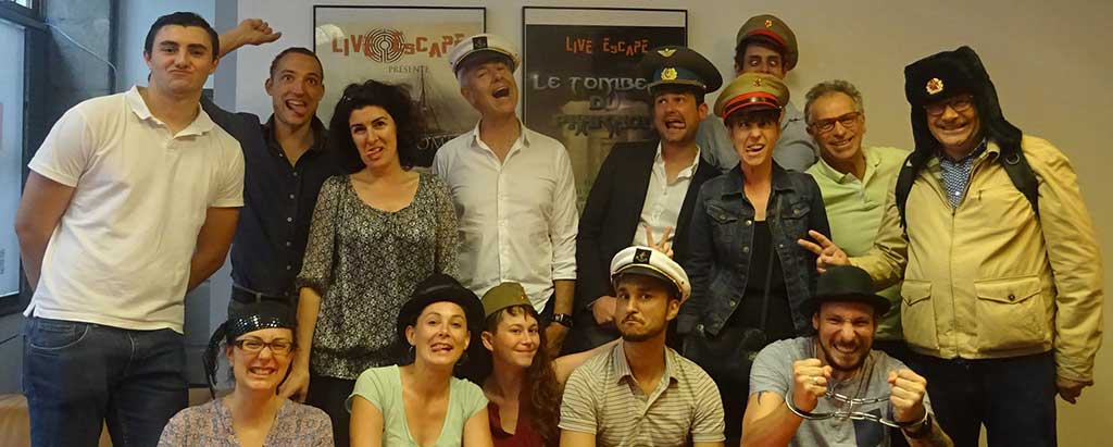 Live Escape Game à Grenoble