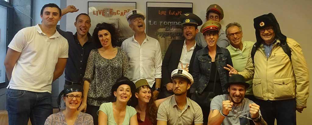 Live Escape Game à Grenoble